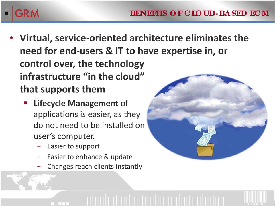 supports them Lifecycle Management of applications is easier, as they do not need to be installed