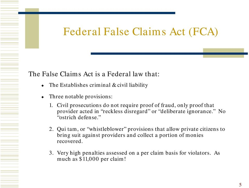 false claims A false claims act primer explains the purpose of the false claims act, as well as how it works and the major components of the law call 7706431606.
