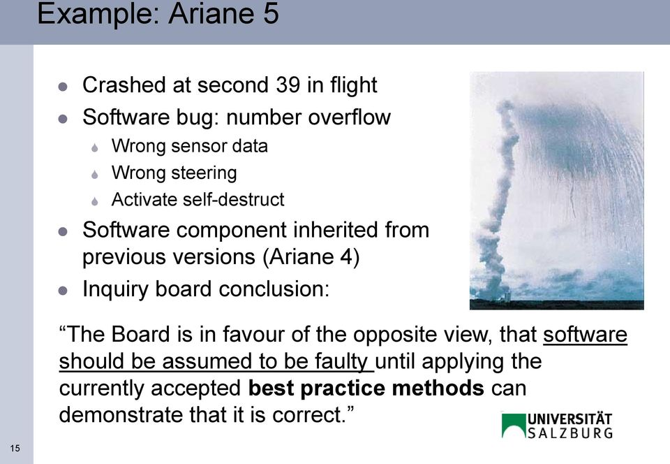 board conclusion: The Board is in favour of the opposite view, that software should be assumed to be