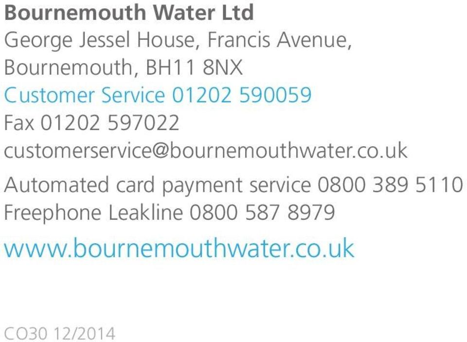 customerservice@bournemouthwater.co.