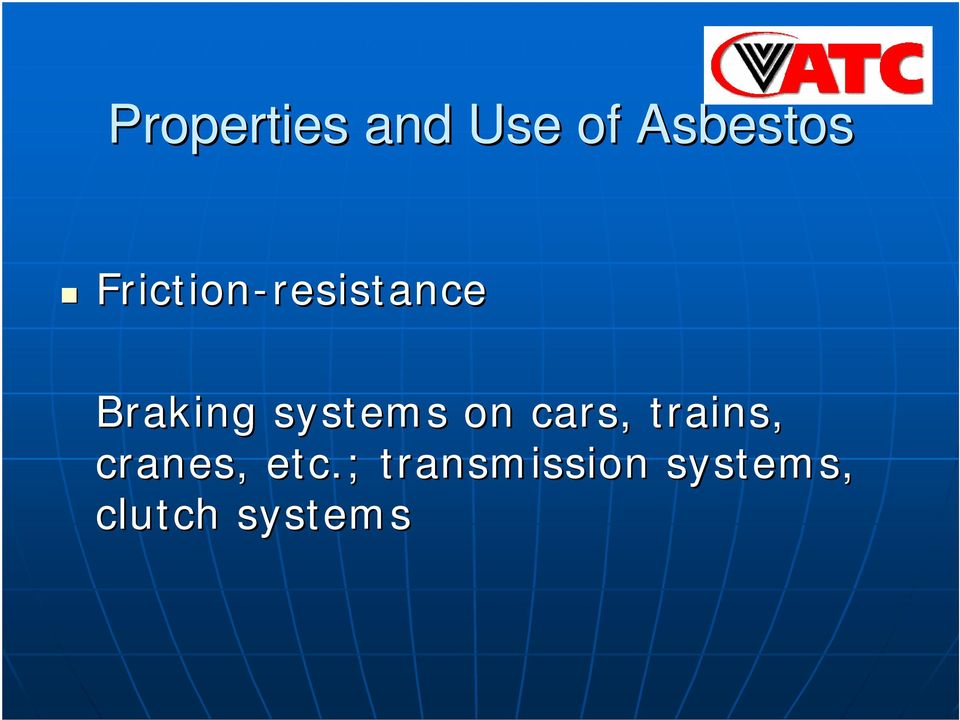 Braking systems on cars, trains,