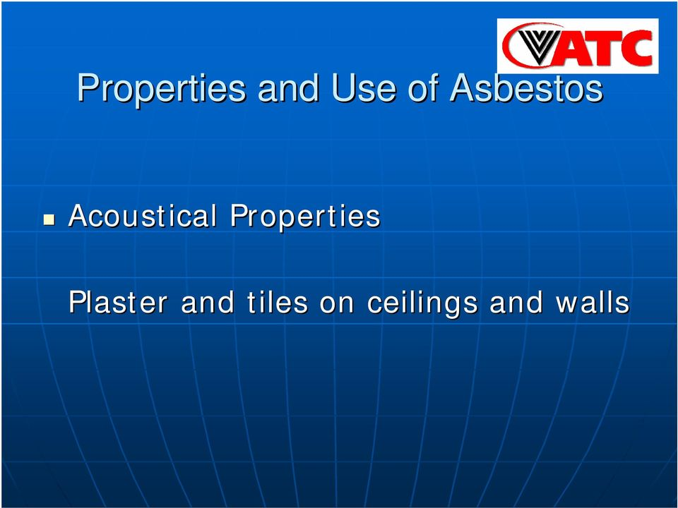 Properties Plaster and