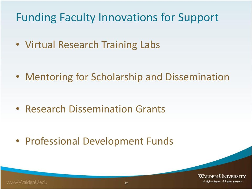 Scholarship and Dissemination Research