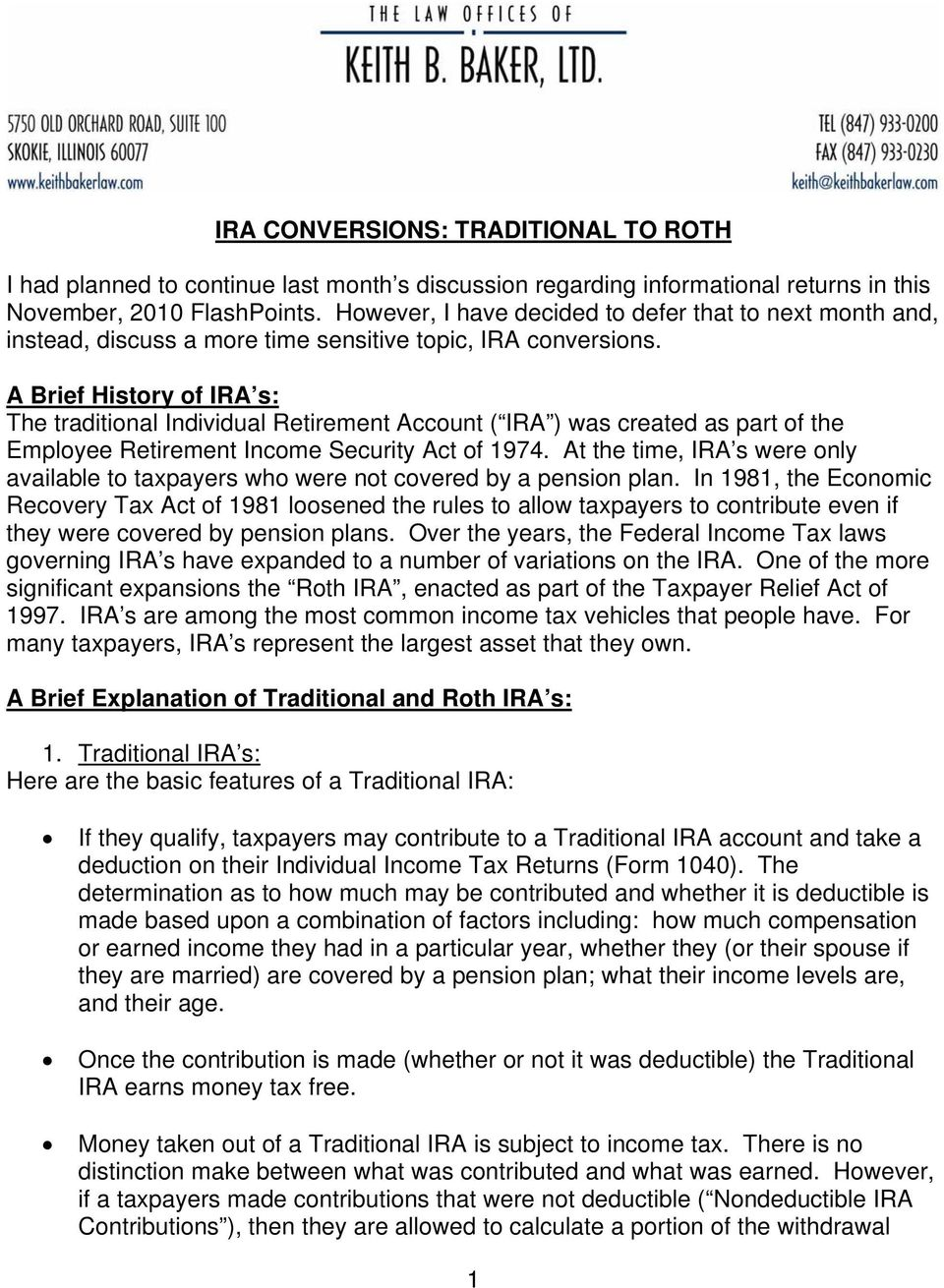 roth ira for dummies pdf
