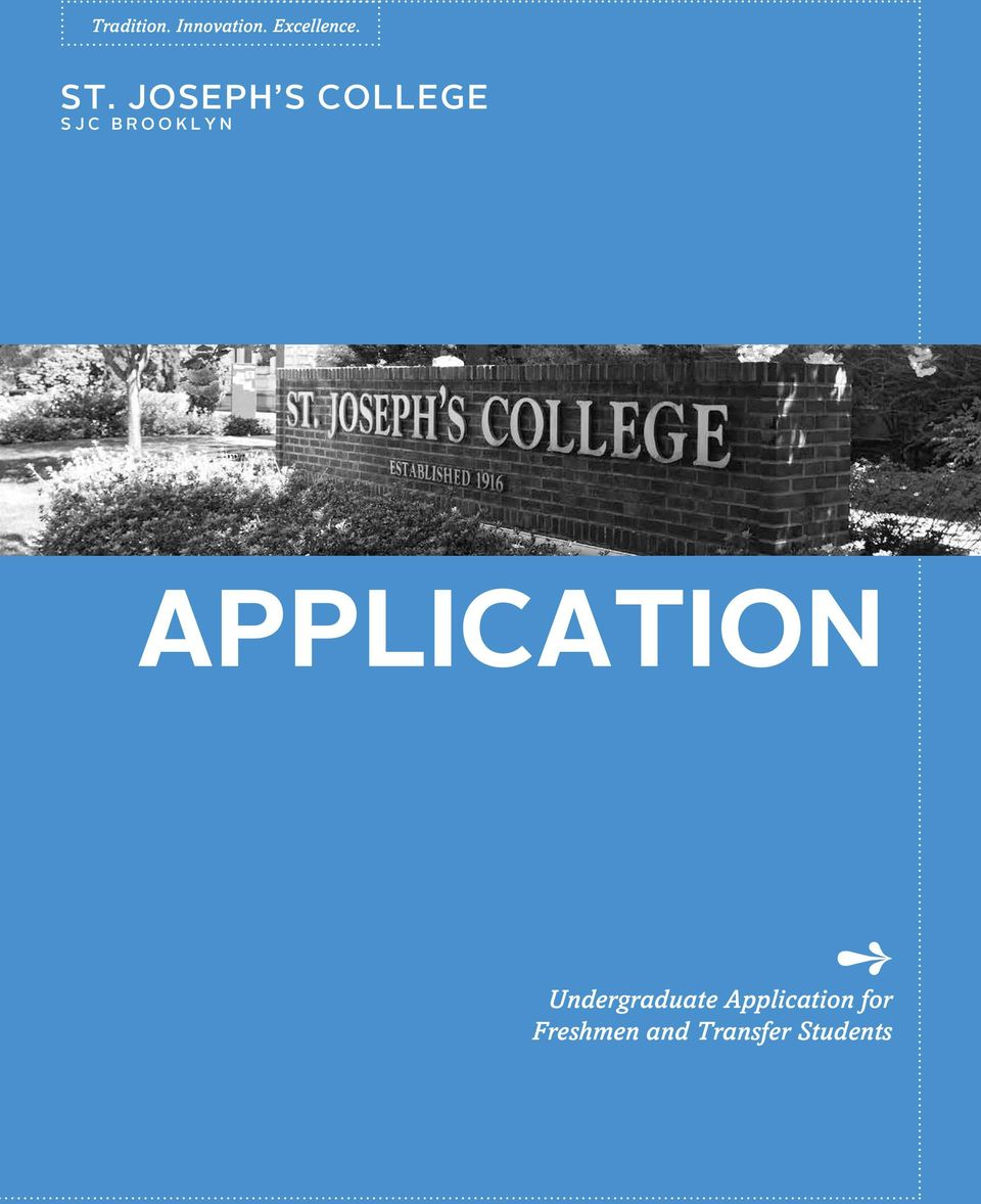 APPLICATION Undergraduate