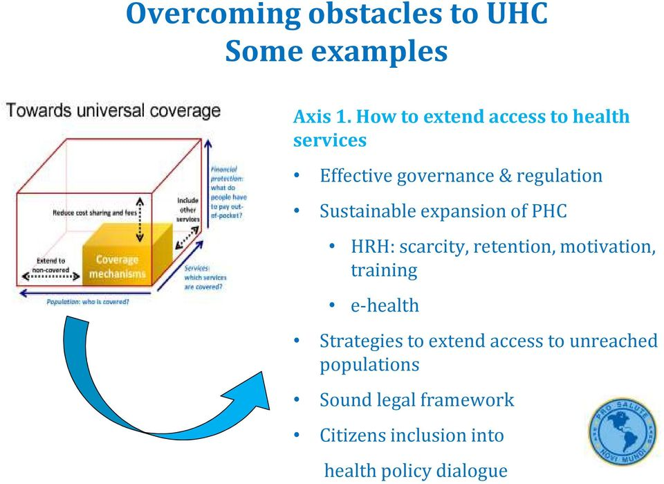 Sustainable expansion of PHC HRH: scarcity, retention, motivation, training