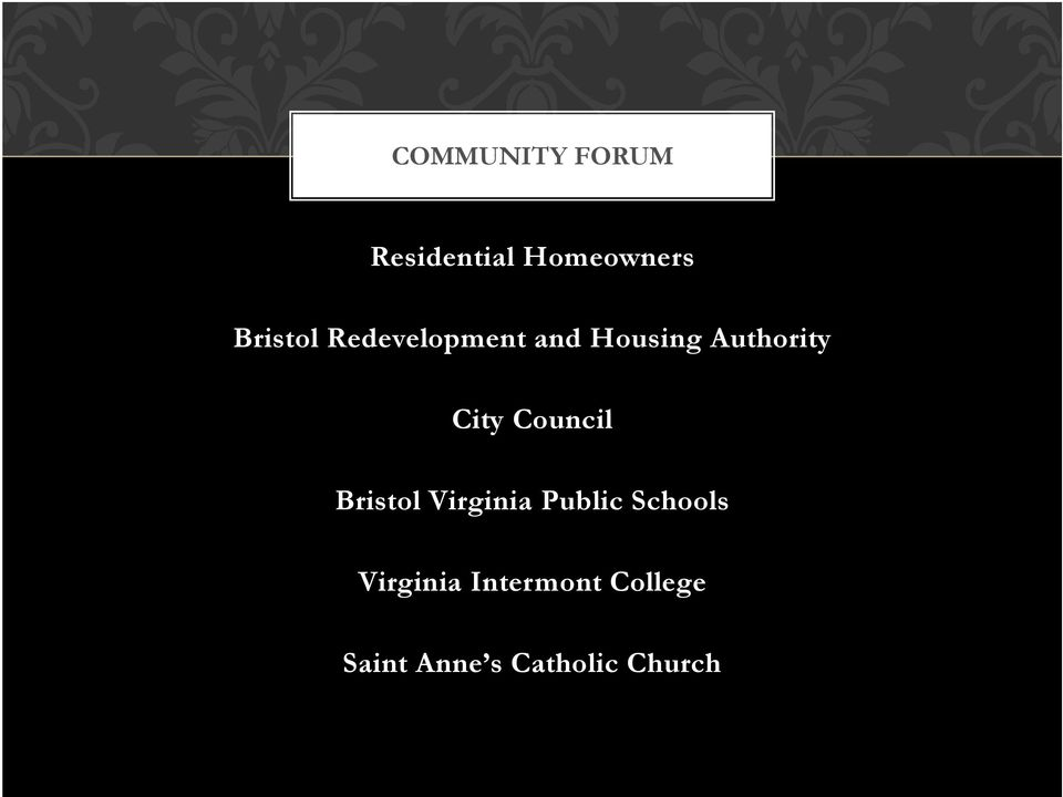 City Council Bristol Virginia Public Schools