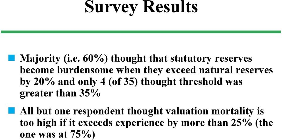 when they exceed natural reserves by 20% and only 4 (of 35) thought threshold