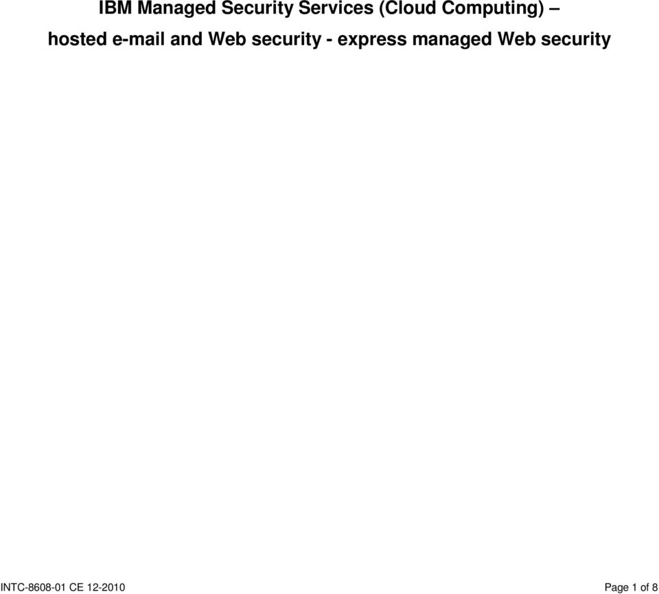security - express managed Web