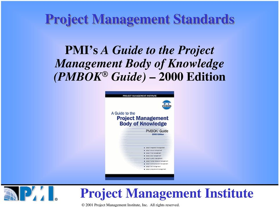 Management Body of Knowledge