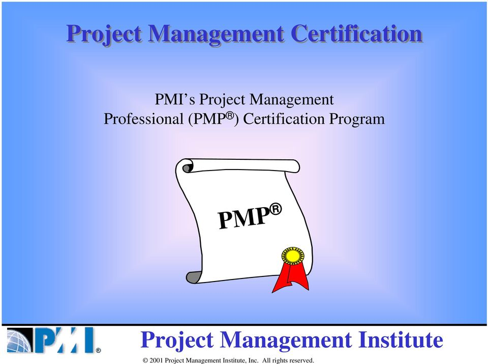 Professional (PMP )