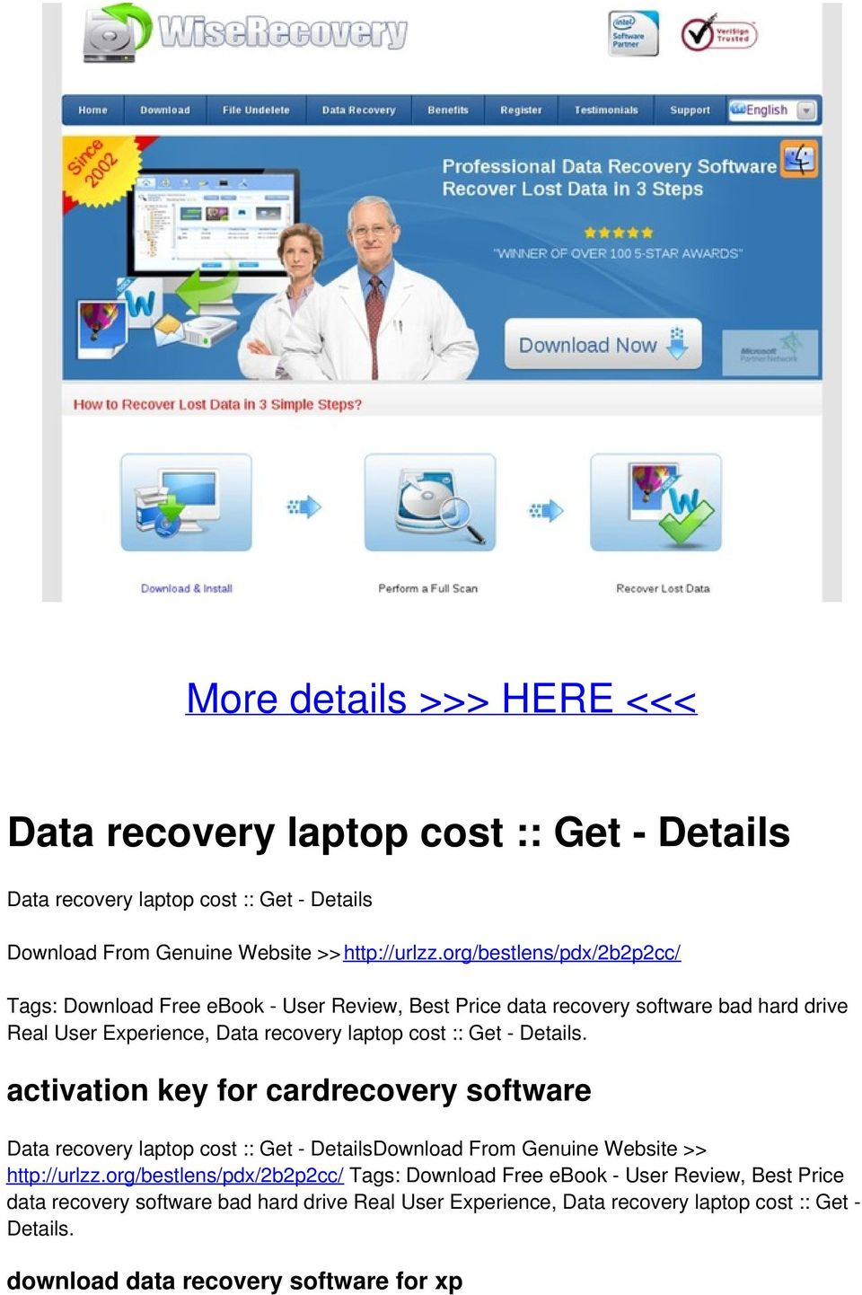 Details. activation key for cardrecovery software Data recovery laptop cost :: Get - DetailsDownload From Genuine Website >> http://urlzz. Details. download data recovery software for xp