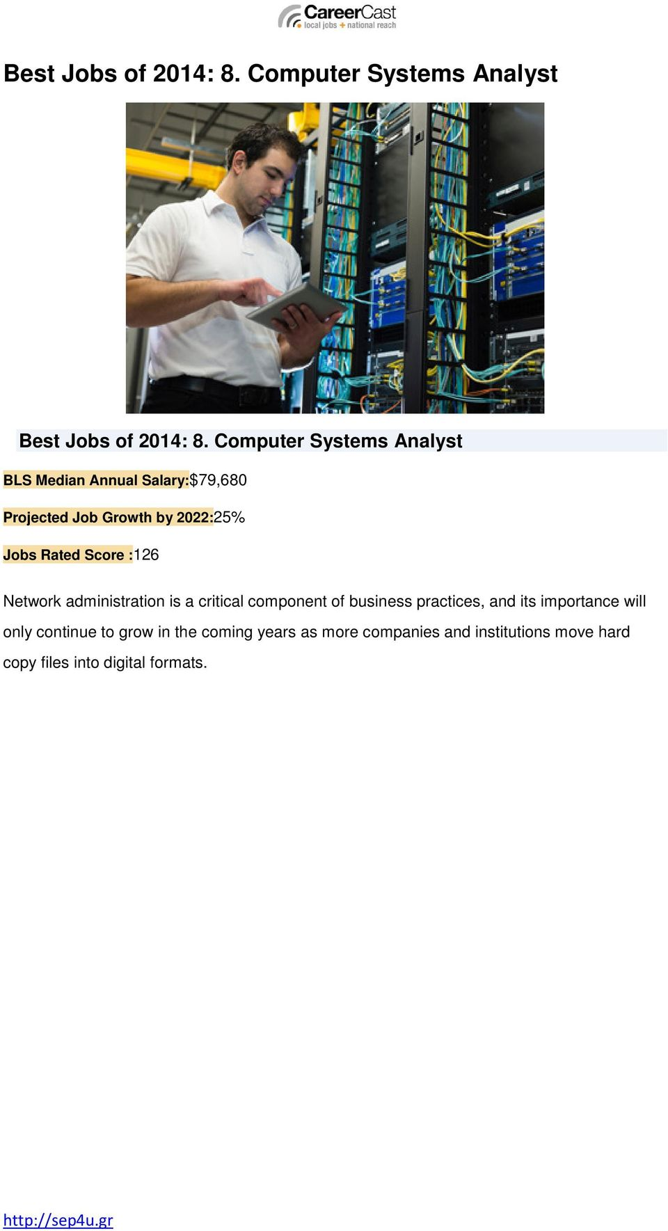 Rated Score :126 Network administration is a critical component of business practices, and its