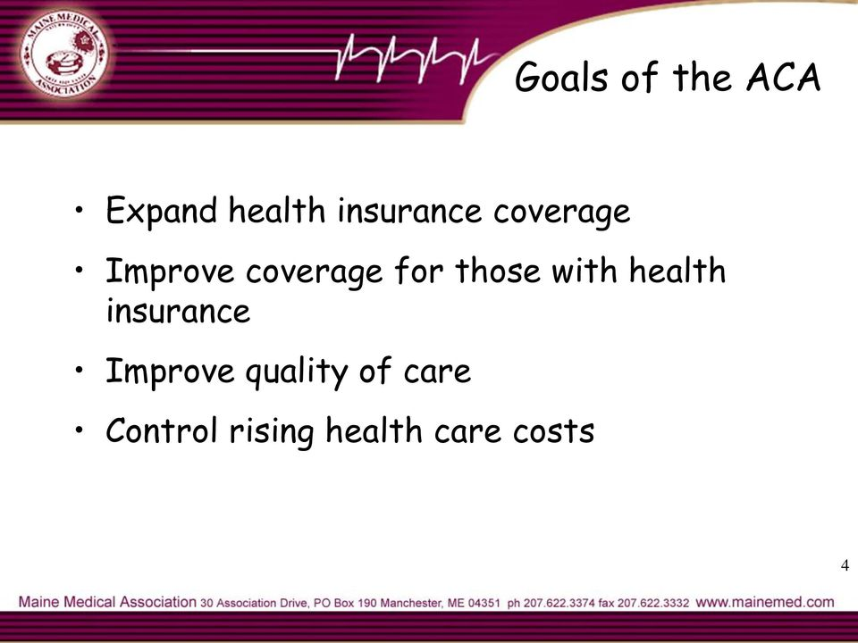those with health insurance Improve