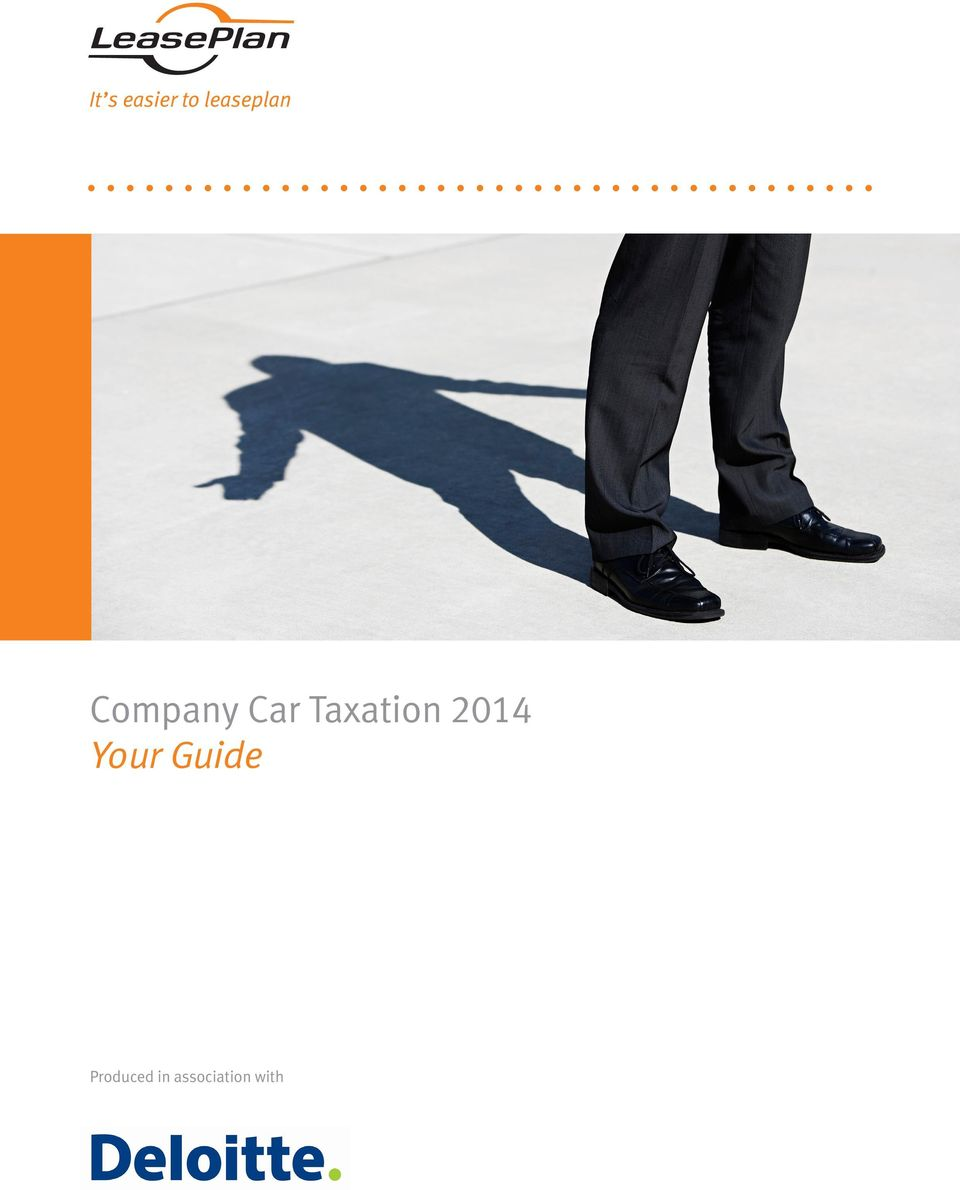 Changes To Company Car Taxation
