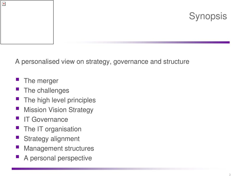 principles Mission Vision Strategy IT Governance The IT