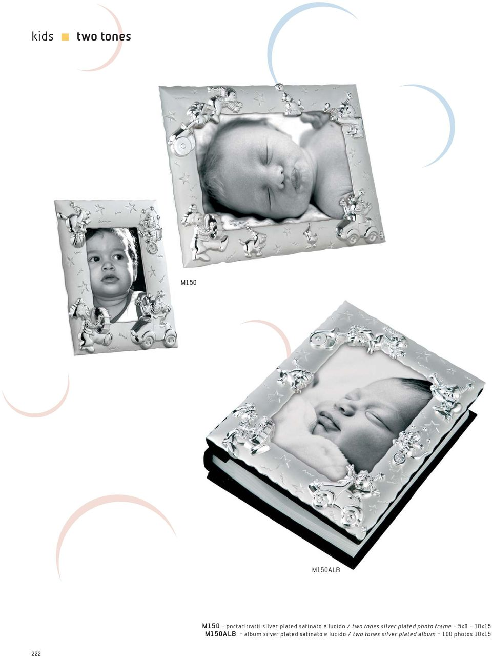 photo frame 5x8 10x15 M150ALB album silver  album 100