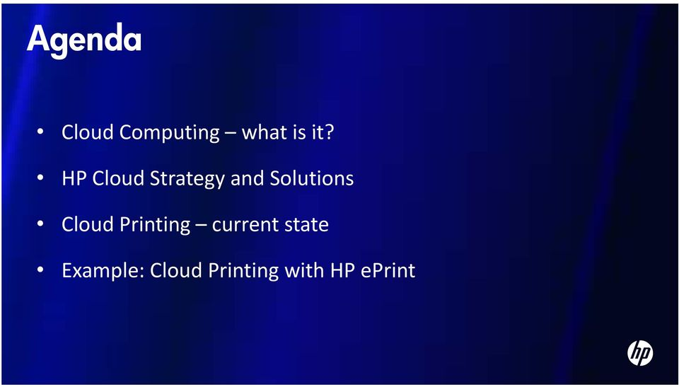 Cloud Printing current state