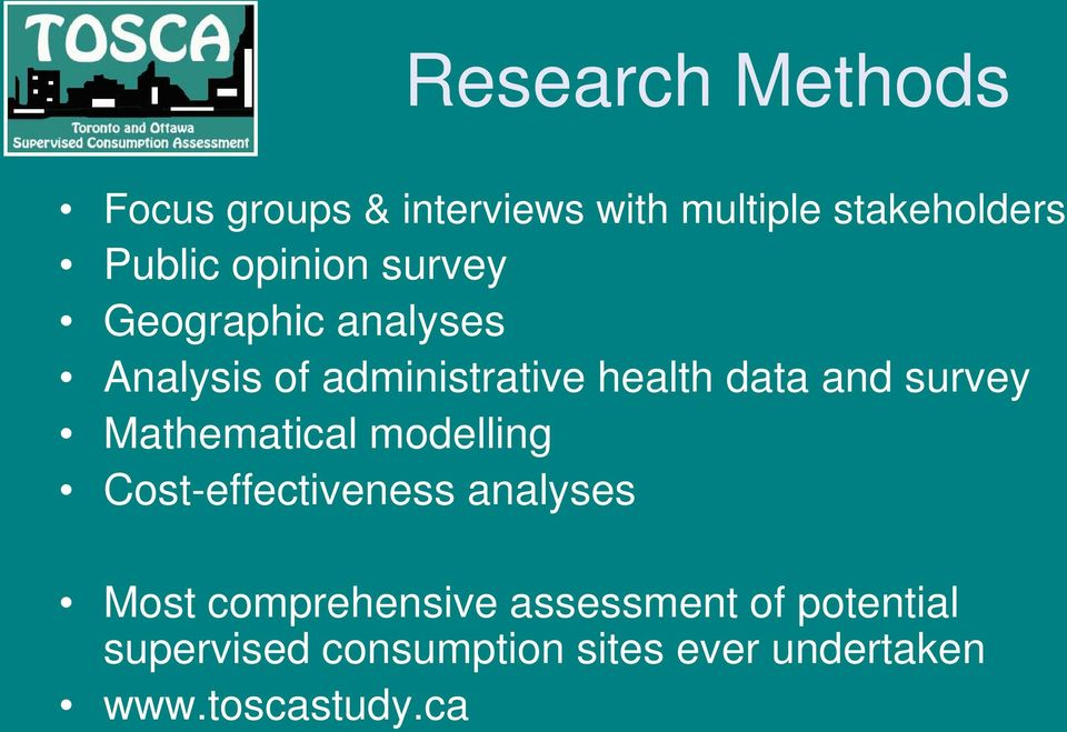 survey Mathematical modelling Cost-effectiveness analyses Most comprehensive
