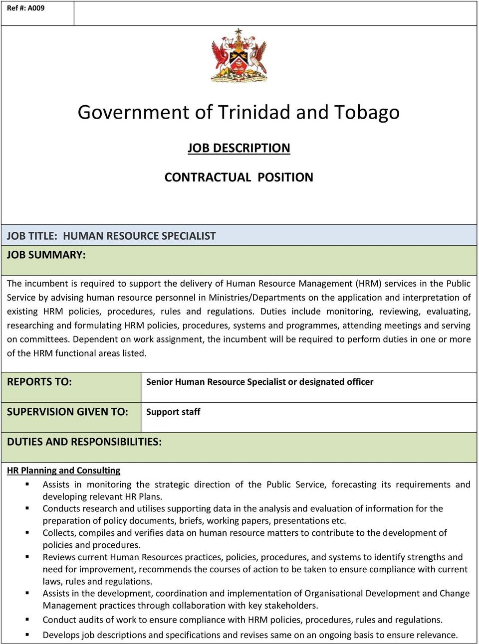 Government of Trinidad and Tobago - PDF Free Download