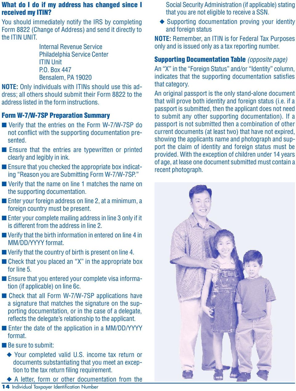 Understanding Your IRS. Individual Taxpayer Identification Number ...