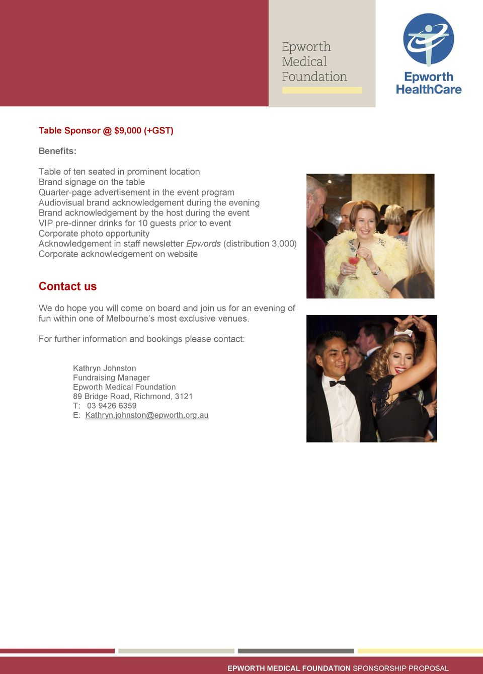 come on board and join us for an evening of fun within one of Melbourne s most exclusive venues.