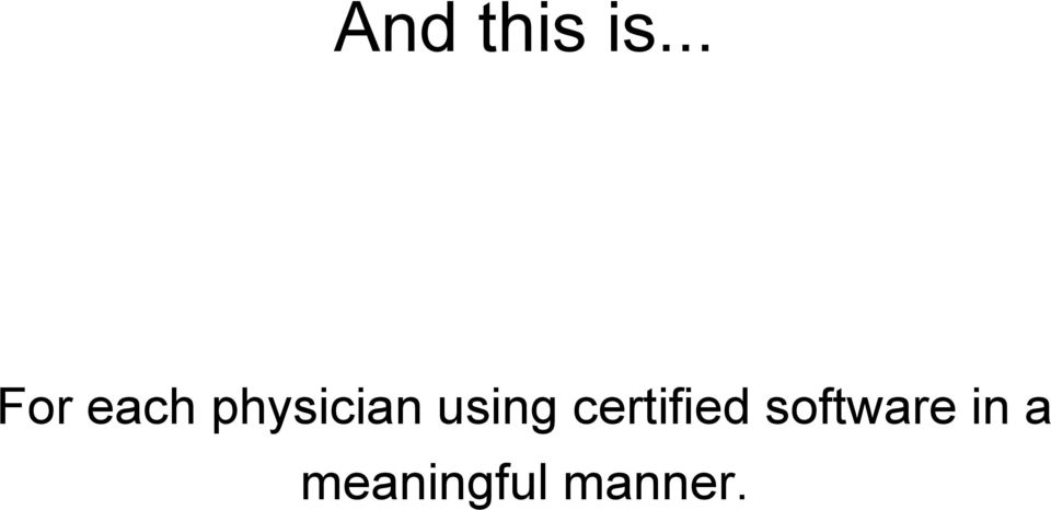 physician using