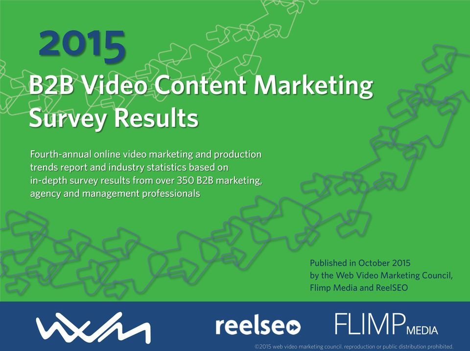 survey results from over 350 B2B marketing, agency and management professionals