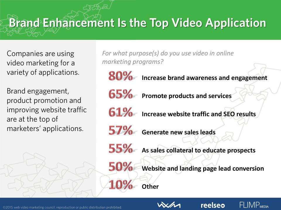 For what purpose(s) do you use video in online marketing programs?