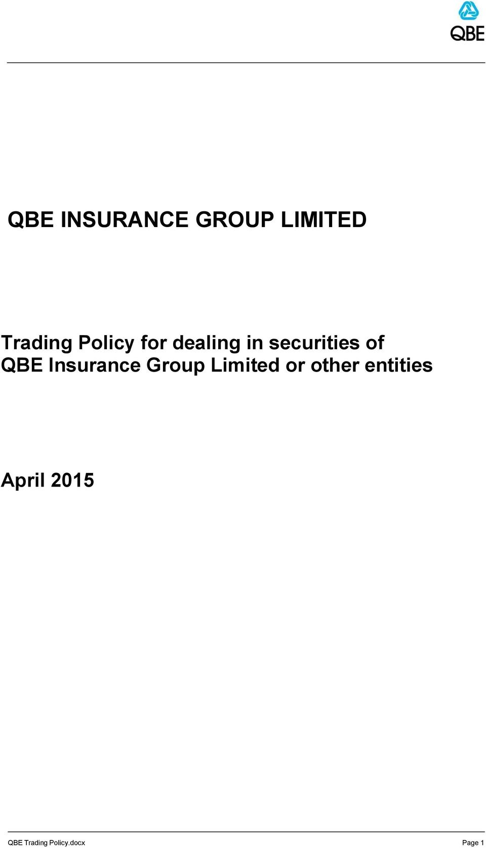 Insurance Group Limited or other