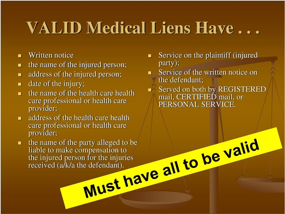 professional or health care provider; address of the health care health care professional or health care provider; the name of the party alleged