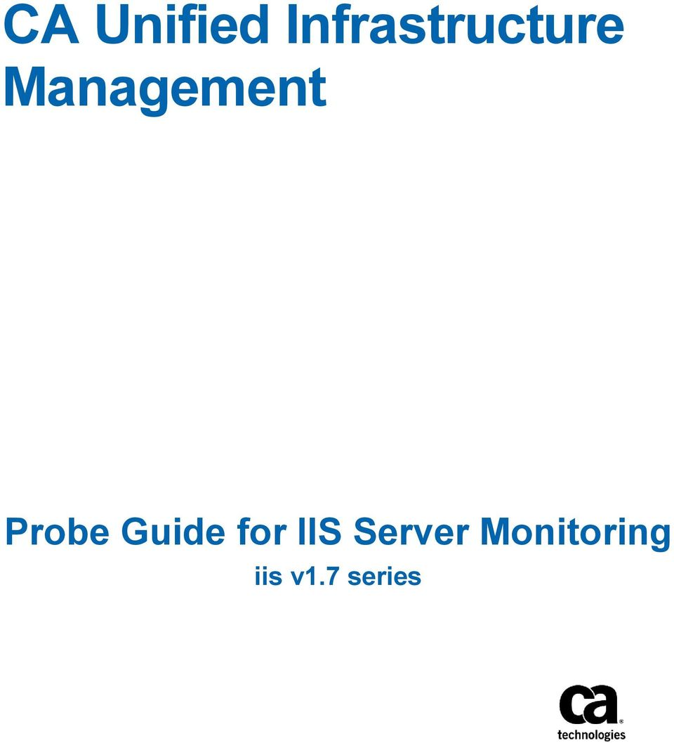 Management Probe Guide