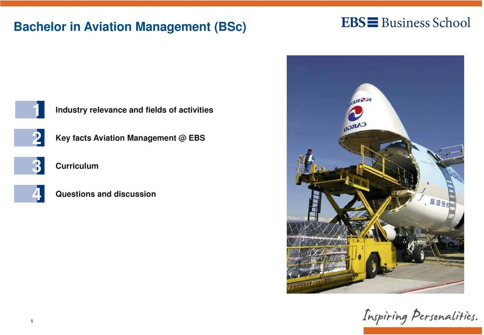 activities Key facts Aviation Management