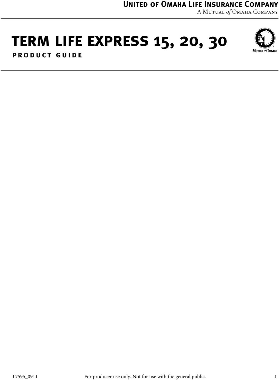30 product guide L7595_0911 For producer