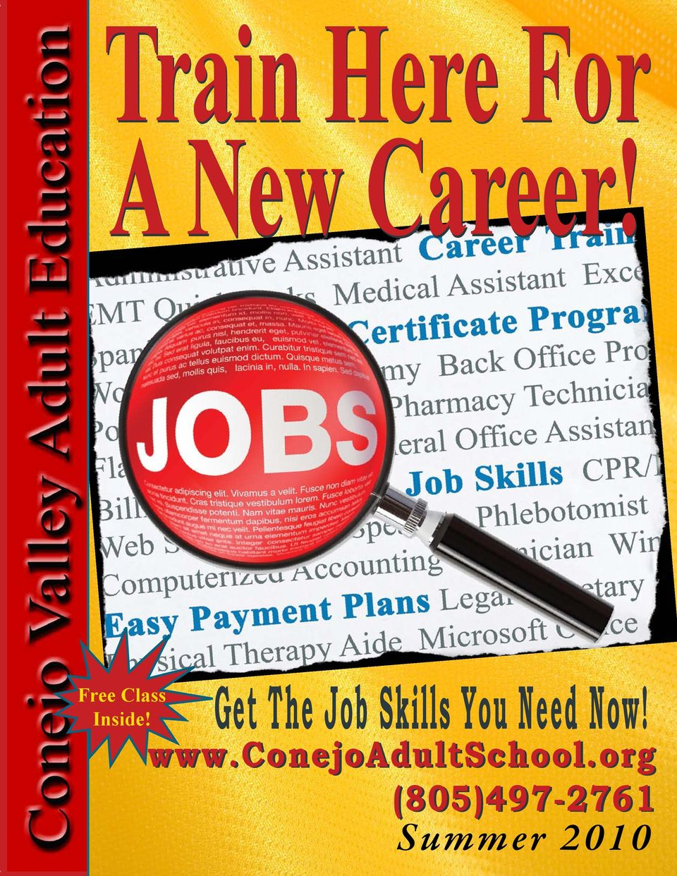 Get The Job Skills You Need Now!