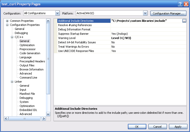 Using libcurl with SSH support in Visual Studio PDF