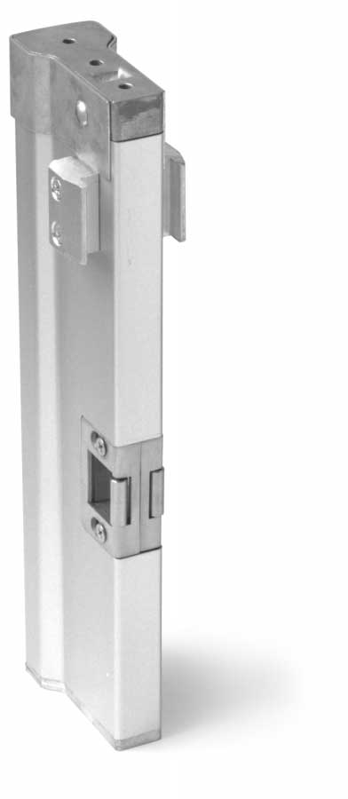 "PANIC HARDWARE LOCKS VON DUPRIN 3347 CONCEALED VERTICAL ROD PANIC Concealed vertical rod touch-bar panic exit device projects only 3 13 16"" from face of door Both top and bottom locking rods"