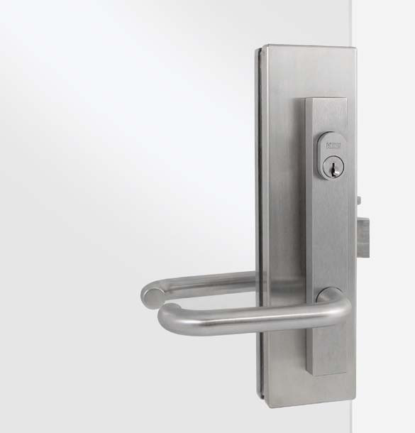 Handles & Patch Locks Stainless Steel Handles NFK offers fast turn-around on custom made and in-store straight handles We can custom make handles to specific lengths, with the quantity and position