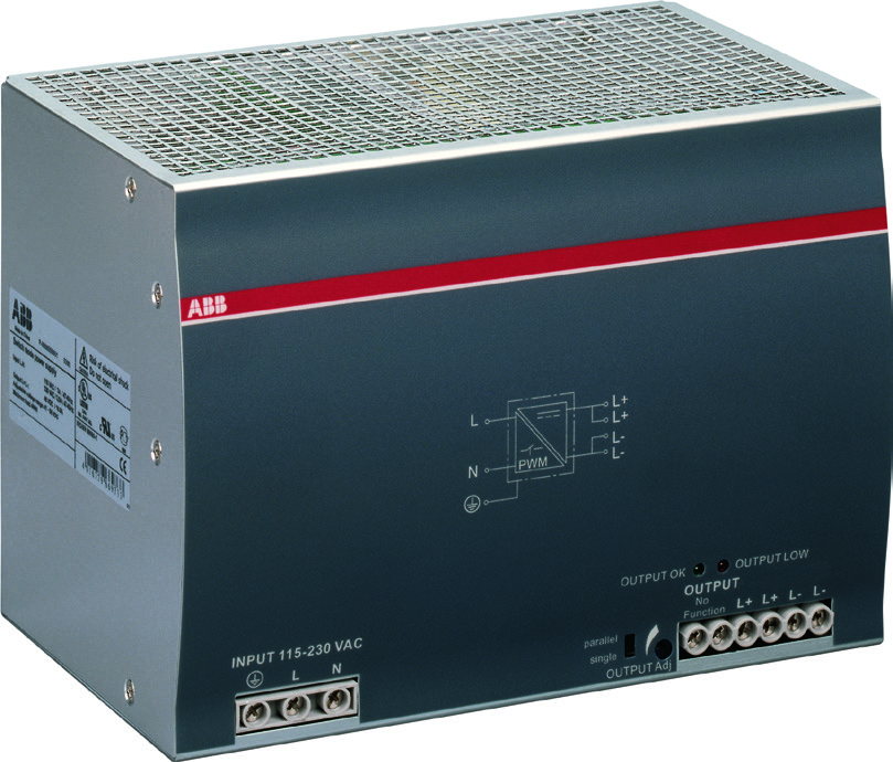 Data sheet Power supply CP-E 48/10.0 Primary switch mode power supply The CP-E range offers enhanced functionality while the number of different types has been considerably reduced.