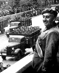 Authoritarian/Command Francisco Franco- Spain's leader during WWII Authoritarian governments command almost every aspect of their citizens lives; only their private lives being left alone.