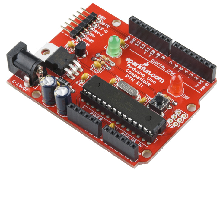 Arduino Compatible PTH Kit Kit Information & Instructions The Arduino Compatible Kit gives you all the components you need to build your very own development platform.