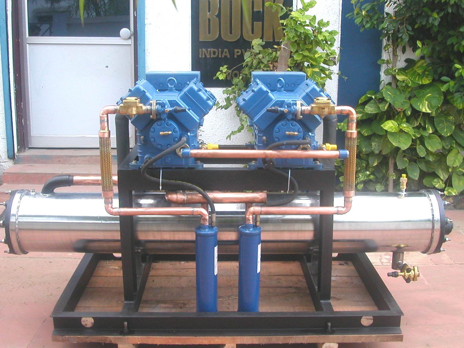 44 Special Water Cooled DUPLEX CONDENSING UNIT #2A70A1