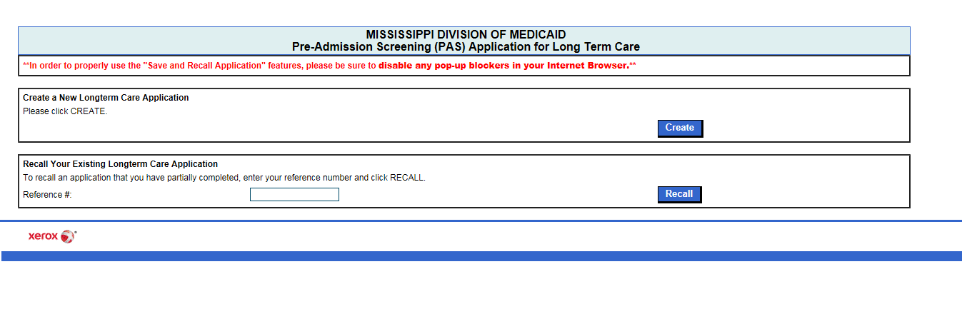 mississippi medicaid application for long term care
