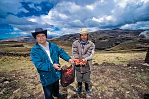 The Alto Chicama Commitment is an initiative involving NGOs and governments working with Barrick on sustainable development projects in rural northern Peru.