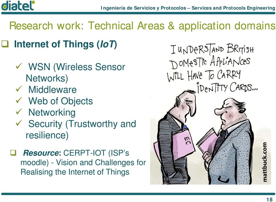 Networking Security (Trustworthy and resilience) Resource: CERPT-IOT