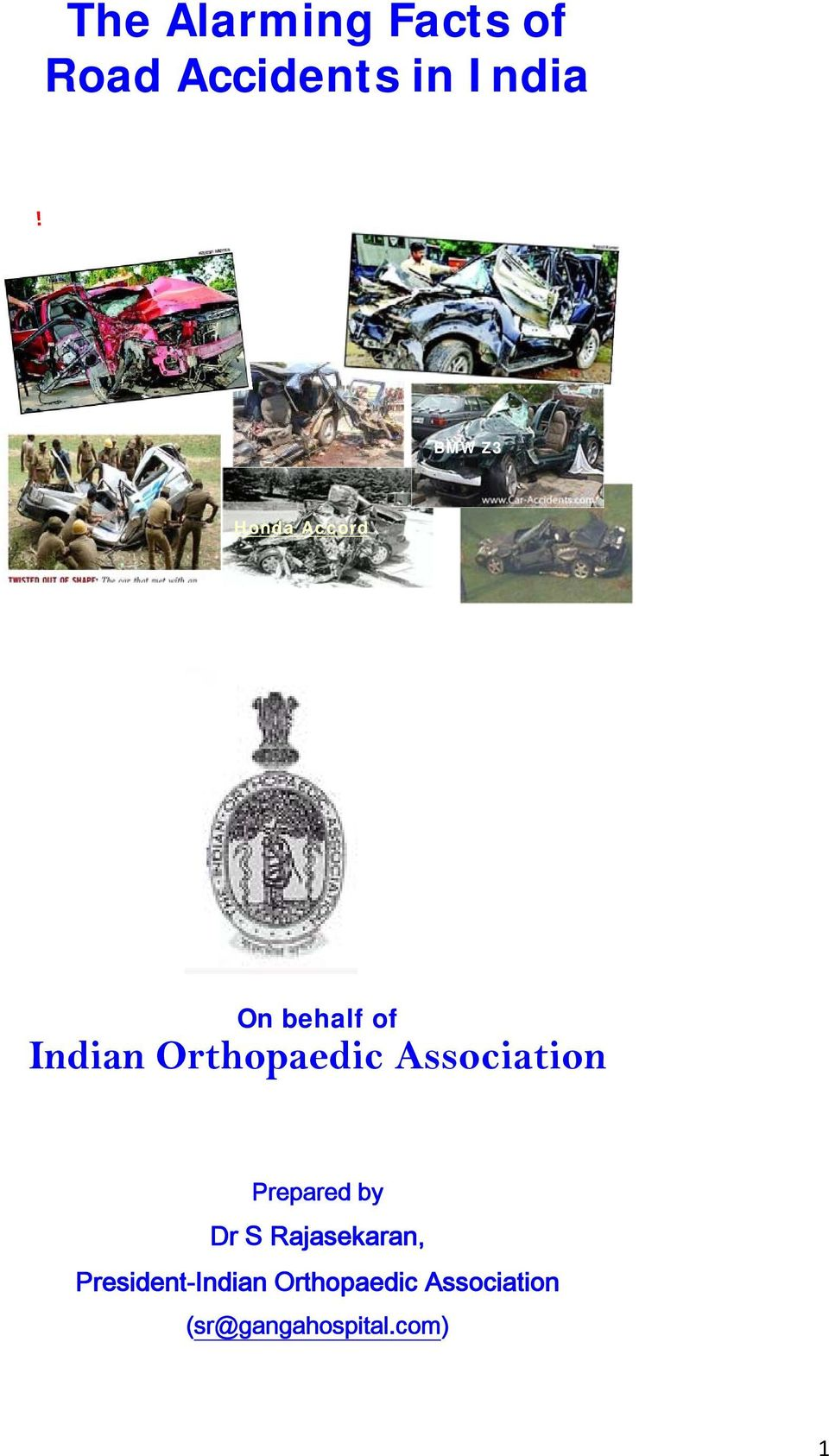 Association Prepared by Dr S Rajasekaran,