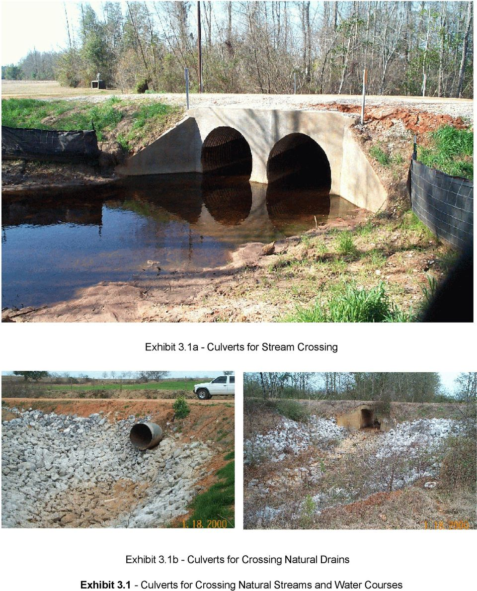 Culverts for Crossing Natural Drains 1 -
