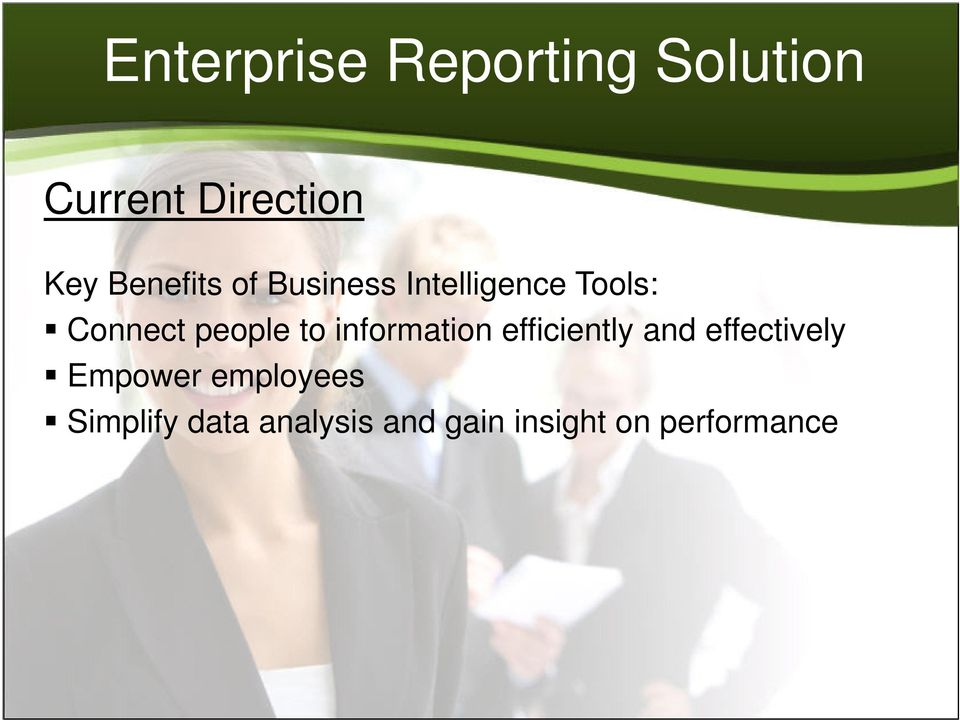 information efficiently and effectively Empower
