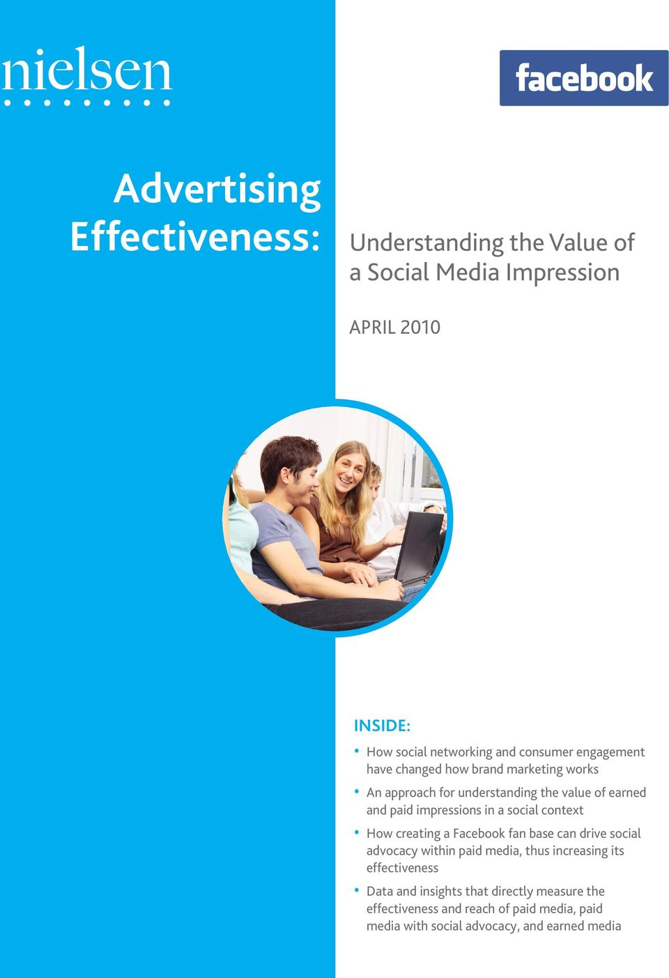in a social context How creating a Facebook fan base can drive social advocacy within paid media, thus increasing its