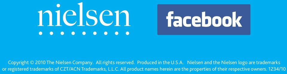 Nielsen and the Nielsen logo are trademarks or registered